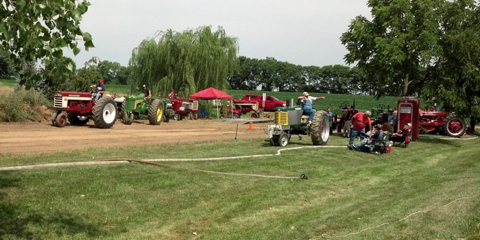 Cromwell Days Tractor Show 2015