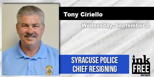 Syracuse Police Chief Resignation 2015