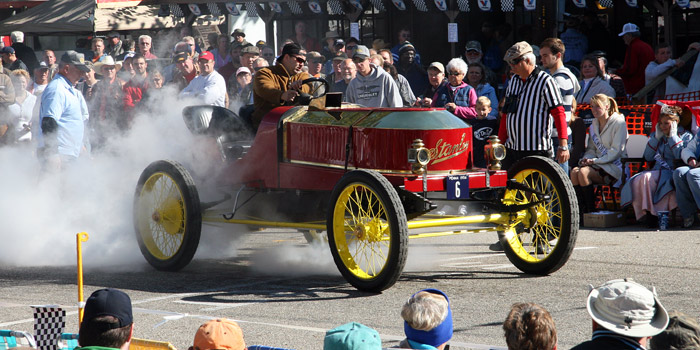Stanley Steamer at 2009 Newport Hill Climb