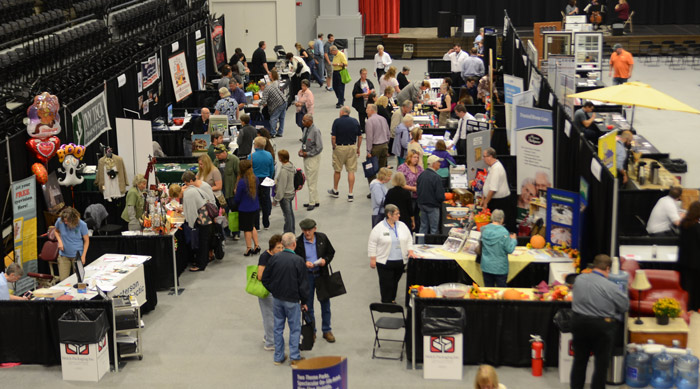 The 2015 Taste & Trade Expo continues until 7 p.m. today and again Saturday from 10 a.m. to 3 p.m.