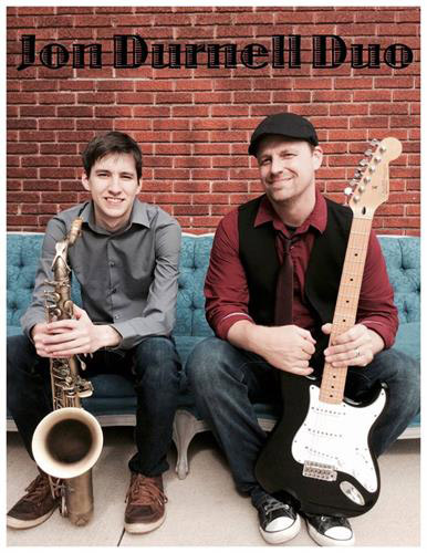 The Jon Durnell Duo will be playing this Saturday at Oakwood.