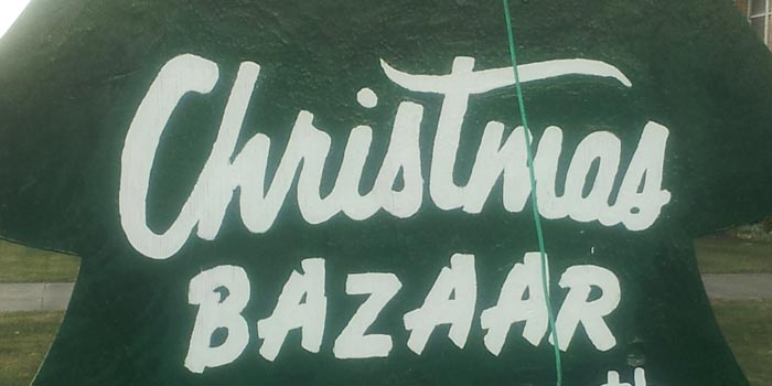 Christmas craft bazaar