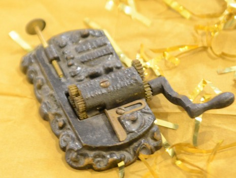 The county historical museum asks if any one knows what this item is to please contact them.