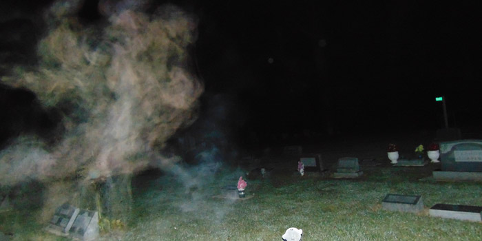 Pictures taken by IGT at a paranormal investigation. (Photos provided)