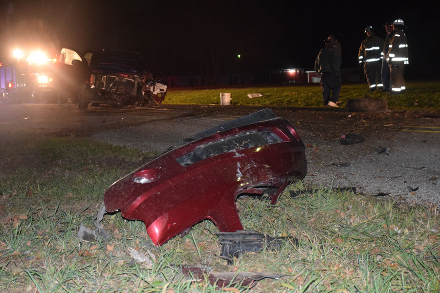 Single Vehicle Accident Bowser Road