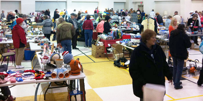 An indoor garage sale is set for Saturday at the Syracuse Community Center. (Photo provided)