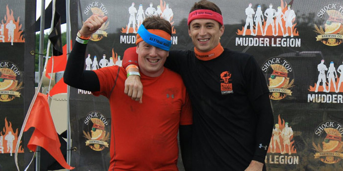 Kyle Blackwell (left) and Andrew Shultz will soon be participating in the 2015 World's Toughest Mudder. (Photos provided)