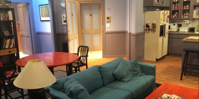 A recreation of Jerry Seinfeld's apartment