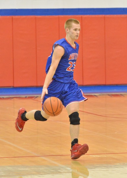 Nate Walpole led all scorers with 27 points in Friday's loss to Tippecanoe Valley. (Photos by Nick Goralczyk)