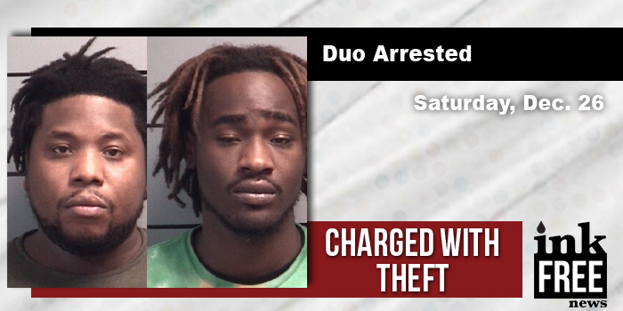 Plymouth Two South Bend Men Were Arrested Saay Afternoon After Taking Several Items From Lowe S In Dedrick Mur Cookbey 25