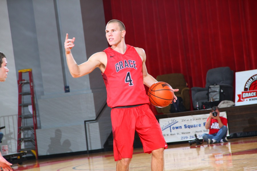 Guard Logan Irwin, who starred at Whitko High School, is having an outstanding senior season for the Lancers.