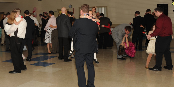 A scene from the 2015 Daddy Daughter Dance.