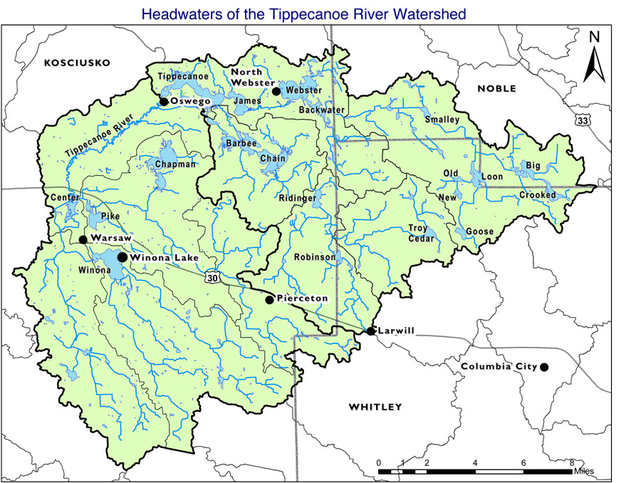 Headwaters of Tippecanoe River Watershed