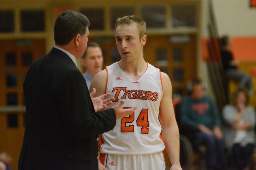 Evan Schmidt is one of three Warsaw seniors set to play in their final sectional. The No. 4 Tigers will face either Penn or Northridge in the Elkhart Sectional semifinals on March 4.