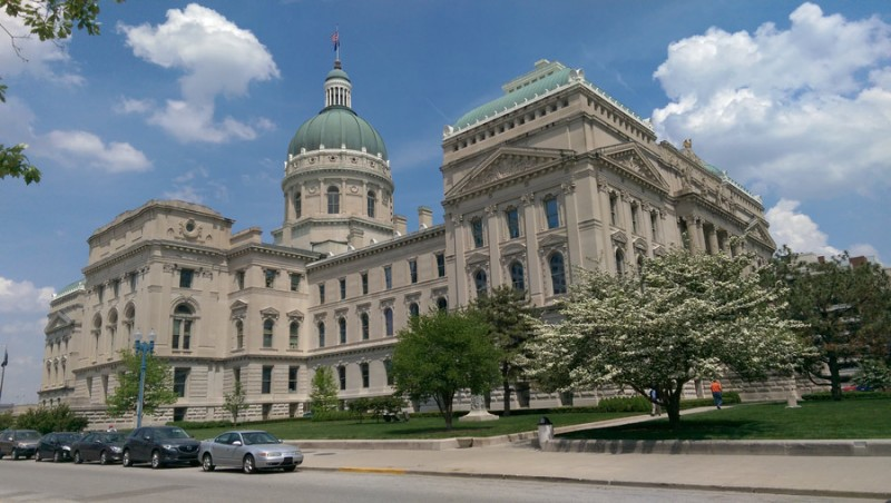 Monroe, Lawrence and Owen counties provided the limestone used in building the Capitol.