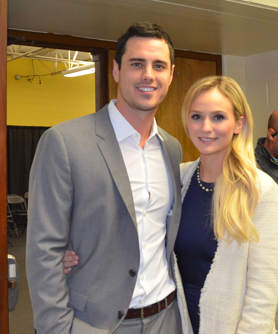 """The Bachelor"" Ben Higgins and Fiance Lauren Bushnell"