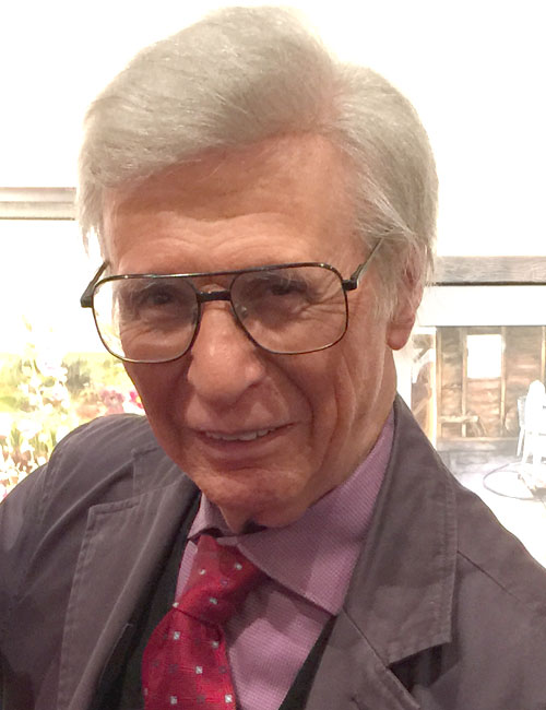 "George ""The Amazing"" Kreskin (Photo by Michelle Reed)"