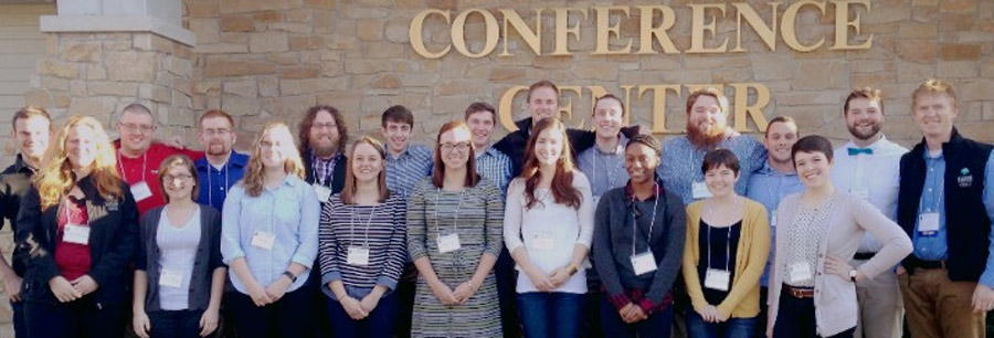 Center for Lakes & Streams staff and research assistants who attended the Annual Indiana Lakes Management Society Conference. (Photo provided)