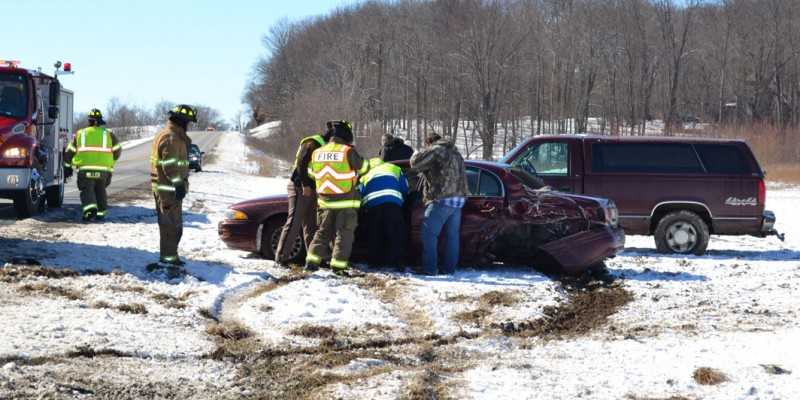 Crash at US 6 and CR 29 outside of Syracuse