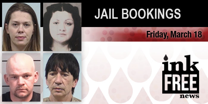 march 18 jail bookings