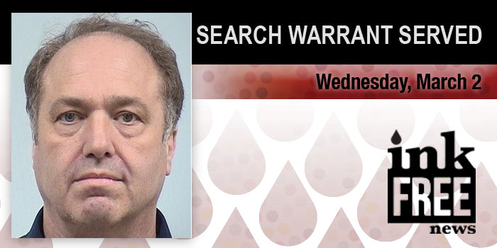search warrant served