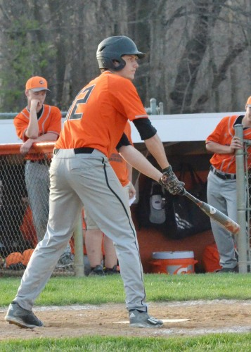 Sterling Hay scored four runs for the Tigers in Monday's win over Wawasee. (Photos by Nick Goralczyk)