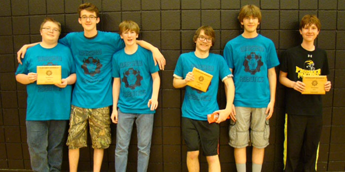 The WACC team of Fresh Princes were Jacob Rucker, Max Engle and Matt Marshall. The WACC team of The Group 35 consisted of Steven Vlot, Aaron Murdock and Dakota LeCount.