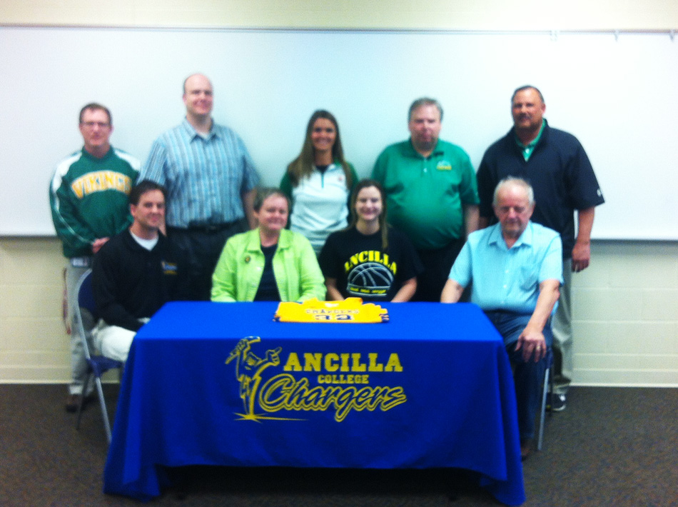 Brynda Krueger's signing with Ancilla College. (Photo provided)