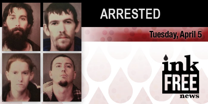 meth arrests