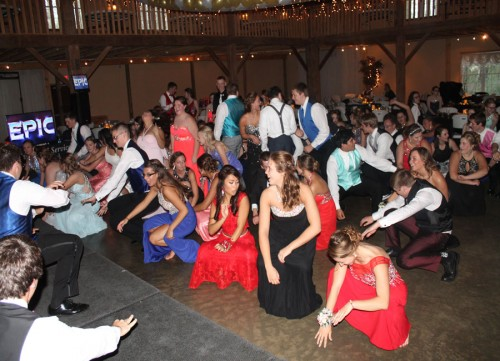 Shown are students at Triton High School enjoying prom which was held Saturday, April 23.
