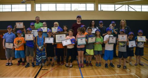 All of the Baker Youth Club children who were honored and present during the awards night.