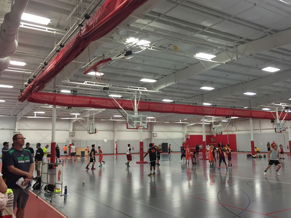 The Gordon Rec Center at Grace College hosted the second-annual Hoopsfest. (Photo provided)