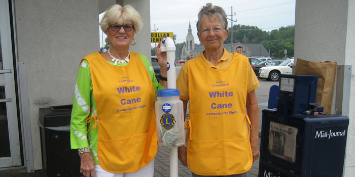 White Cane Day Becky Fox & Suzanne Slabach_Feature