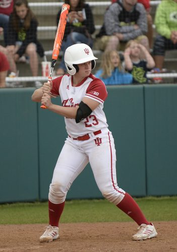 Former WCHS and IU softball standout Kelsey Dotson has signed a one-year contract with the Chicago Bandits (Photo provided by IU Athletics)