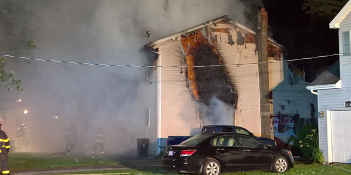 One person was killed over the weekend in a Claypool house fire. (Photo provided)
