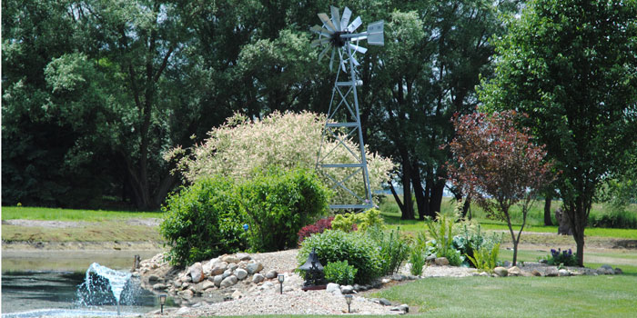 Featuring two ponds the Klein location is a rural Milford retreat of tranquil scenes and gardens. (Photos provided0