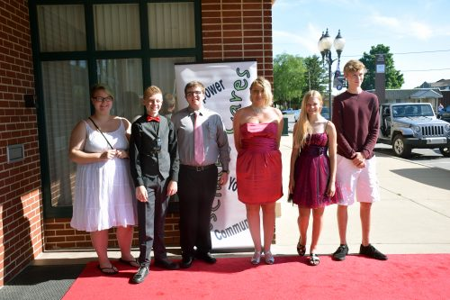 The writers included Katy Shepherd, Ian Peloza, Nate Myer, Waklyn Hudson, Brianna Guilliam and Jack Stewart.