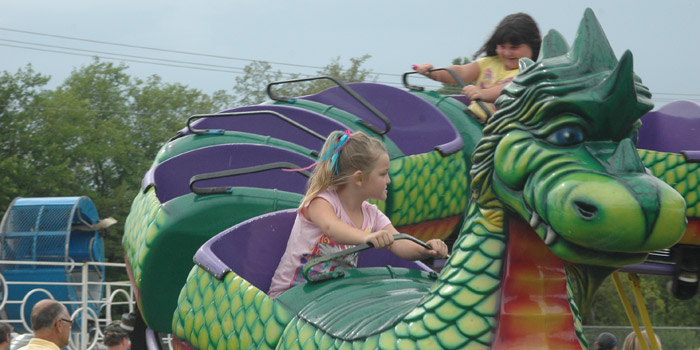 There will be rides for all ages at this year's Mermaid Festival
