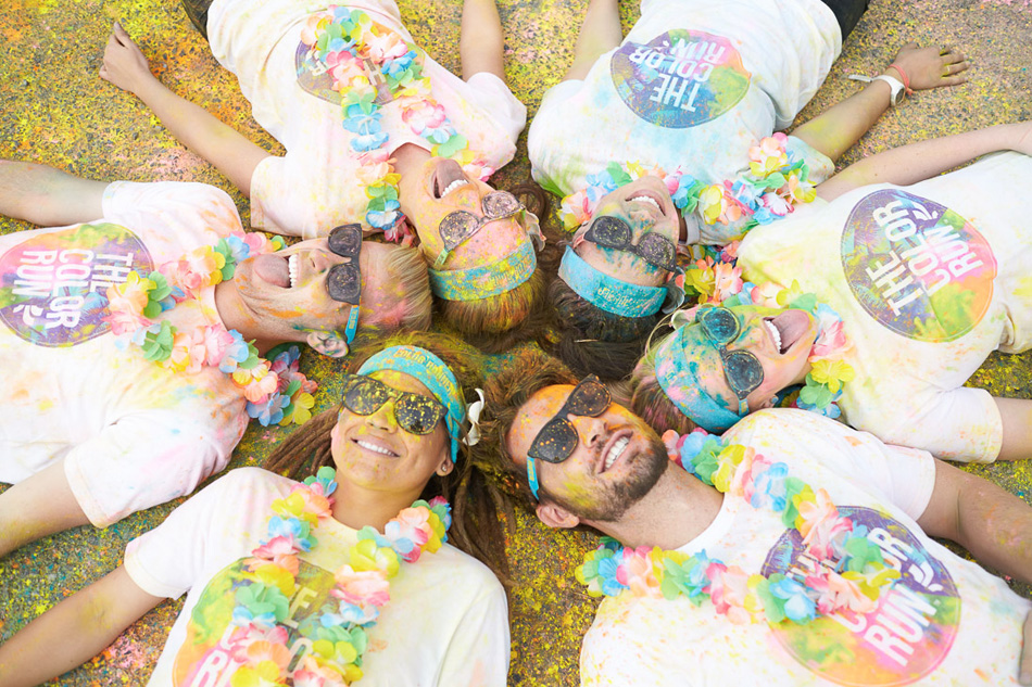 The Color Run 5K is coming to South Bend in October. (Photos courtesy The Color Run)