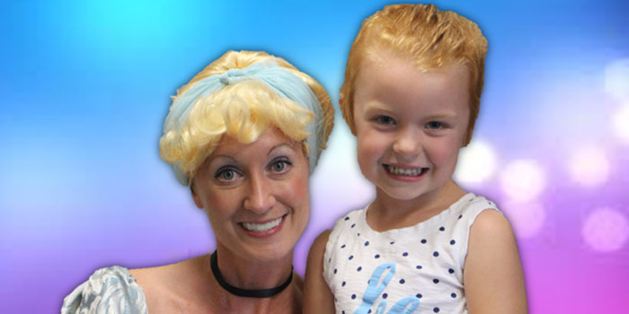 The Studio Princess poses with Payton Slaymaker. (Photo provided)