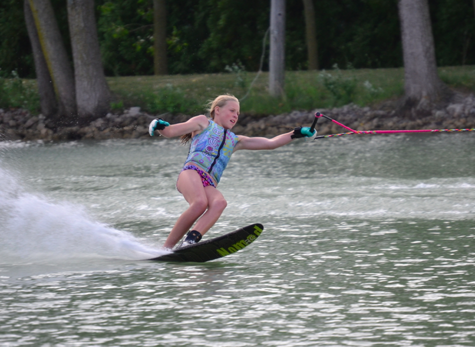 Alexis Mishler will be one of the skiers taking part in this weekend's Indiana Open. (Photo provided by Phil Mishler)