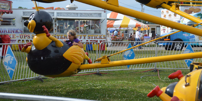Kosciusko County Community Fair honors different groups and organizations each day with special dates, especially during Kiddies Day on Tuesday, July 12, and Senior Day on Wednesday, July 13. There are many activities on these discount days.