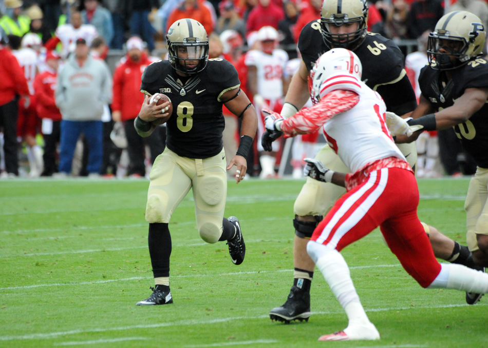 Purdue running back Markell Jones was named to the Doak Walker watch list, an award given to the top running back in college football. (File photo by Mike Deak)
