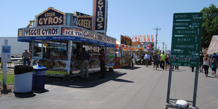 Enjoy the sites and sounds of Kosciusko County Community Fair, July 10-16. It takes place on the fairgrounds, 1400 E. Smith St., Warsaw. Parking is free but admission is free only until 1 p.m.