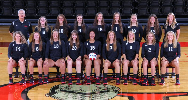 The 2016 Grace College volleyball team (Photo provided by the Grace College Sports Information Department)