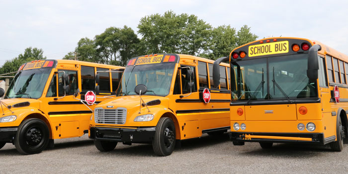 Whitko Schools have three new, up-to-date school busses. (Photos provided)