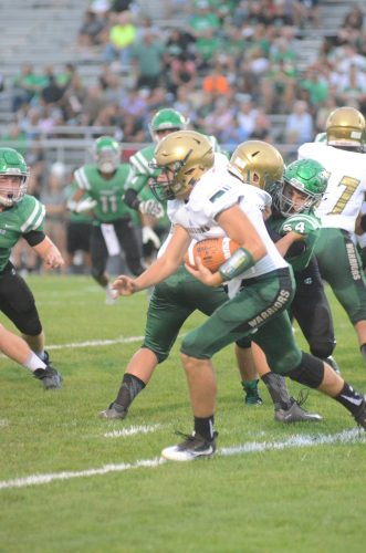 Tyler Smith rushed for over 300 yards and accounted for five touchdowns.