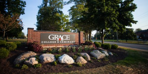 Grace College Sign