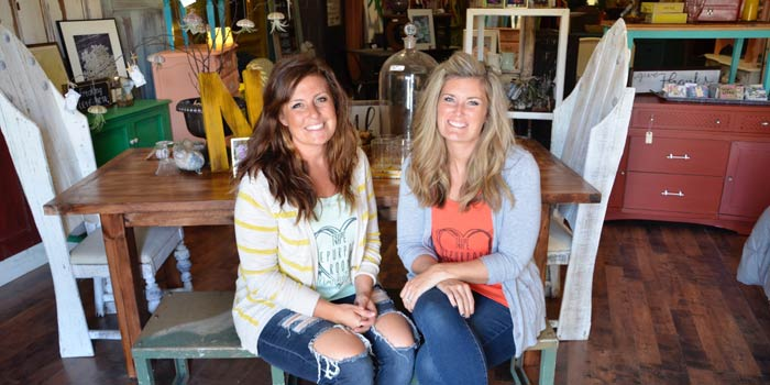 Business owners Amie Nelson and Leslie Brown