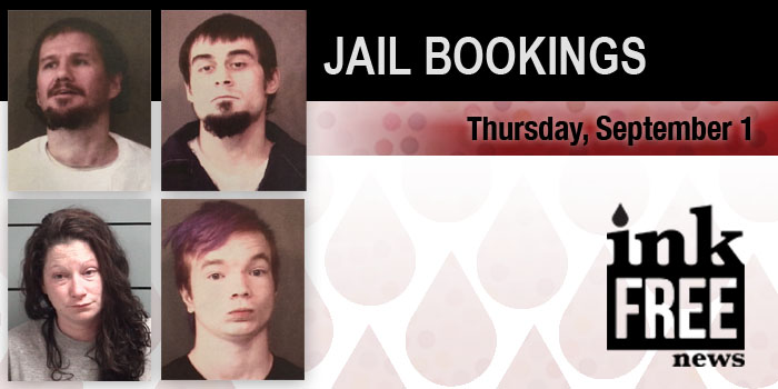 THE JAIL bookings 1